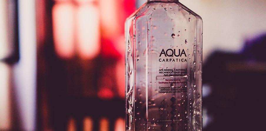 En vattenflaska – som profilprodukt